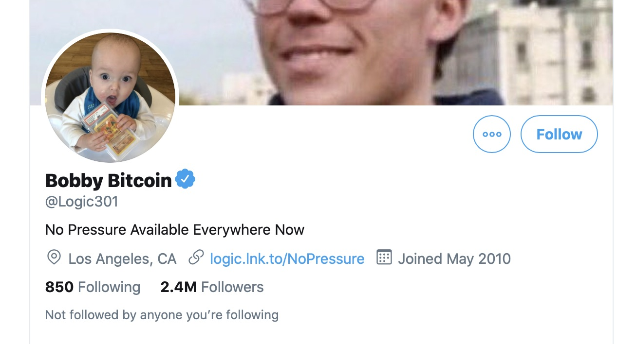 Bobby Bitcoin Rapper Logic